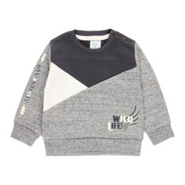 Boboli - Grijze sweatshirt voor jongens