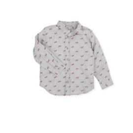 Tutto Piccolo - Grijs hemdje met print