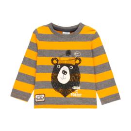 Boboli - Gestreepte t-shirt met lange mouwen