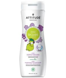 Attitude Little Leaves - 2-in-1 shampoo & body wash - vanille pear