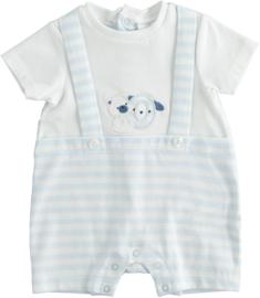 ido - Babyblauw zomerpakje