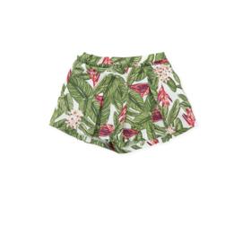 Tutto Piccolo - Groen jungle shortje