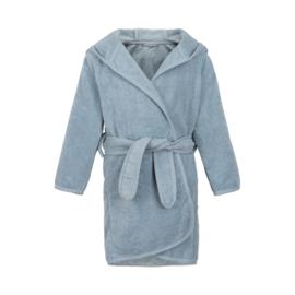 Pippi Babywear - Badjas met capuchon - lichtblauw