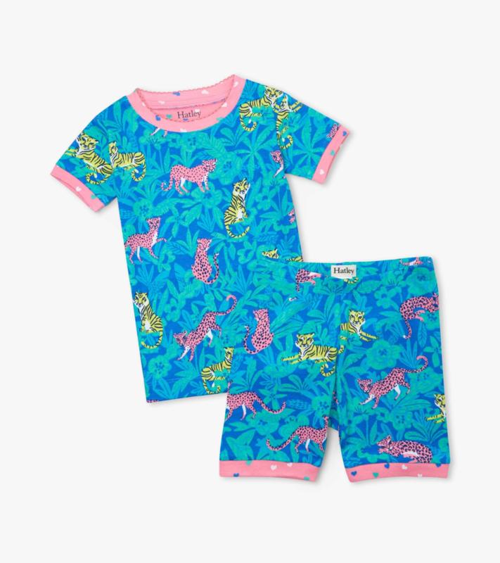 Hatley - Pyjama set voor meisjes - Jungle Cats