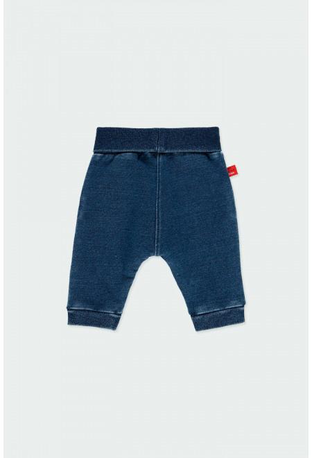 Boboli - Blauwe jegging voor baby jongens