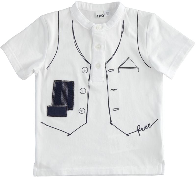 ido - T-shirt 'dressed up'
