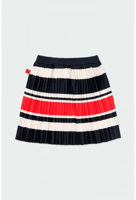 Boboli - Gestreepte rok met plissé
