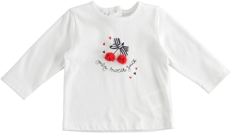 ido - T-shirt met lange mouwen kersjes