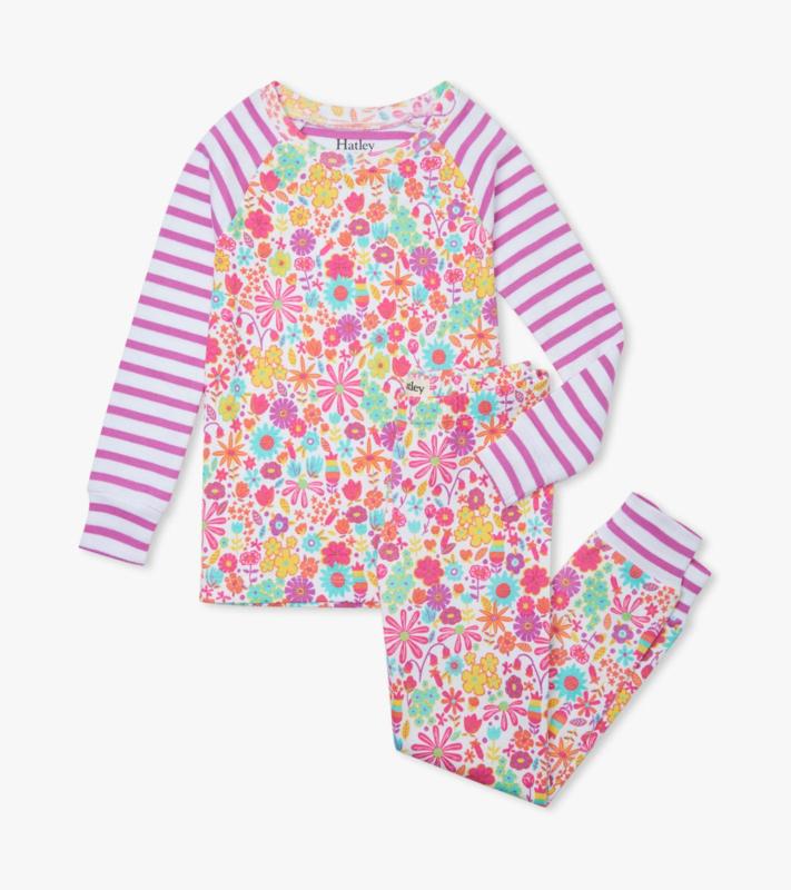 Hatley - Pyjama set voor meisjes - Mini Flowers