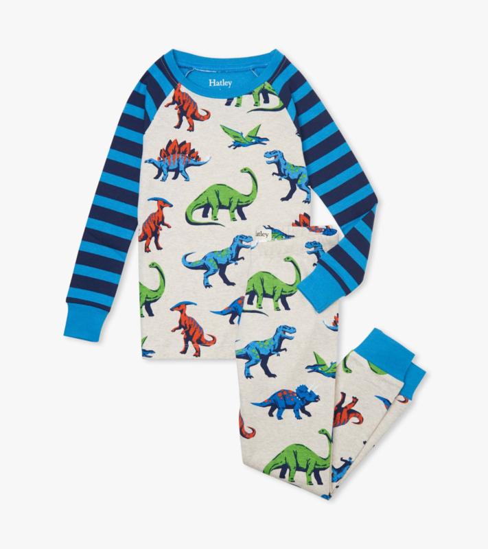 Hatley - Pyjama set voor jongens - Friendly Dinosaurs