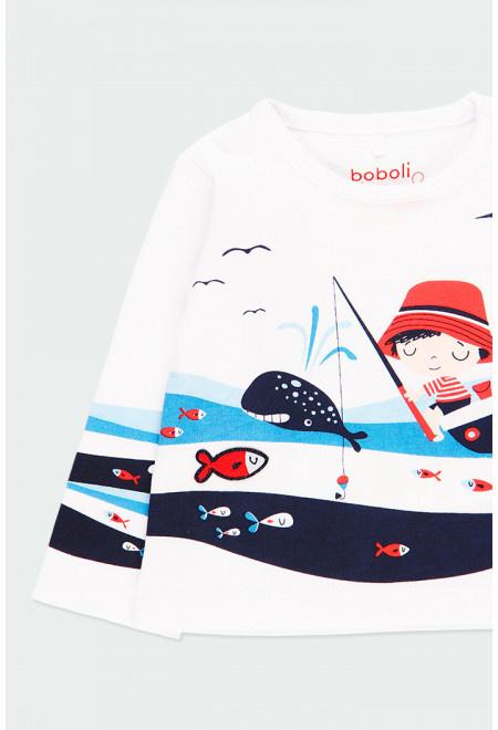Boboli - T-shirt 'At Sea' voor baby jongens
