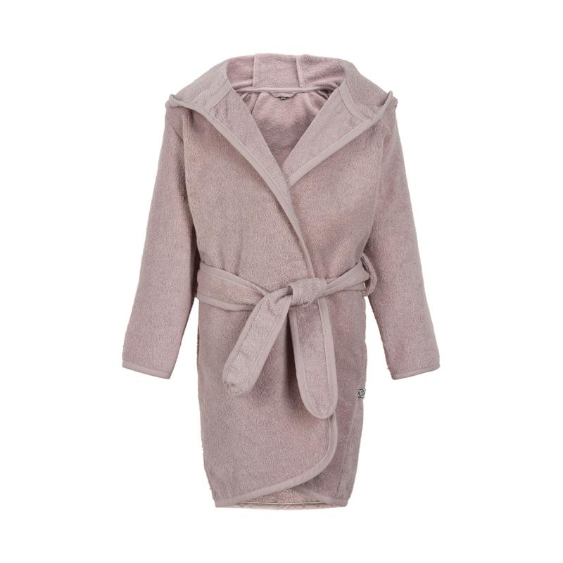 Pippi Babywear - Badjas met capuchon - icy roze