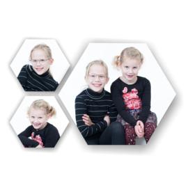 Schoolfoto set hexagon