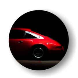 Porsche -rond op 3mm  plaat diverse afm