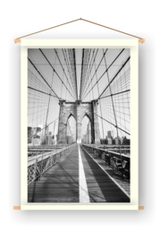 Brooklyn bridge op doek