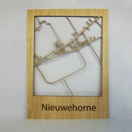 Plattegrond Nieuwehorne
