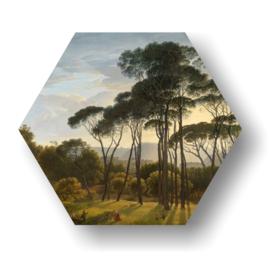Schilderwerk bomen  op 3mm plaat diverse afm