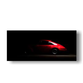 Porsche op 3mm plaat in diverse afm