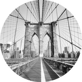 Brooklyn bridge behangcirkel