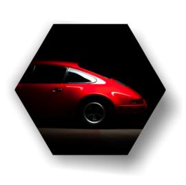 Porsche  op 3mm plaat diverse afm