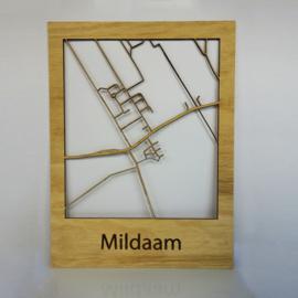Plattegrond Mildam
