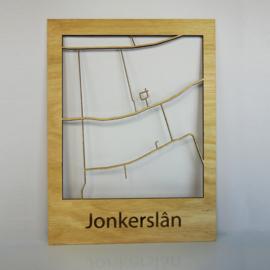 Plattegrond Jonkerslân