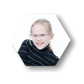 Schoolfoto hexagon