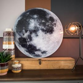 Maan -rond op 3mm  plaat diverse afm