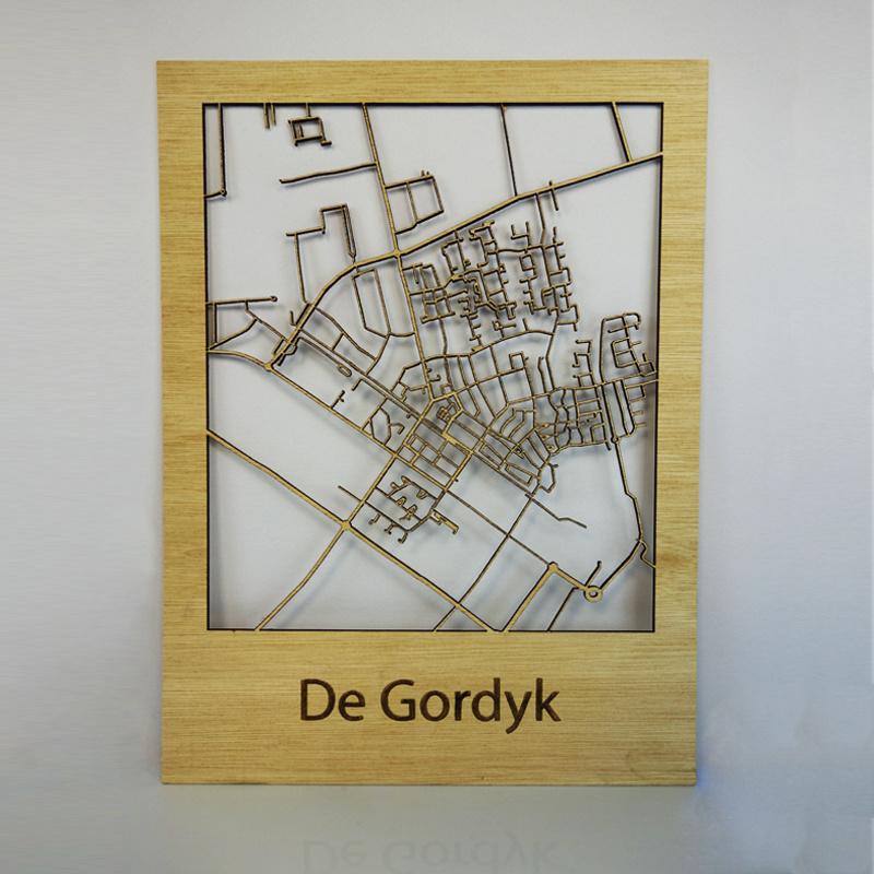 Plattegrond Gorredijk