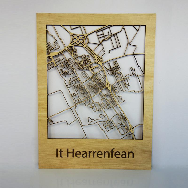 Plattegrond Heerenveen