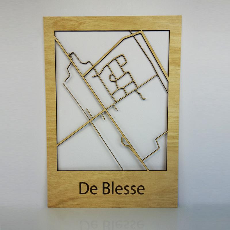 Plattegrond De Blesse