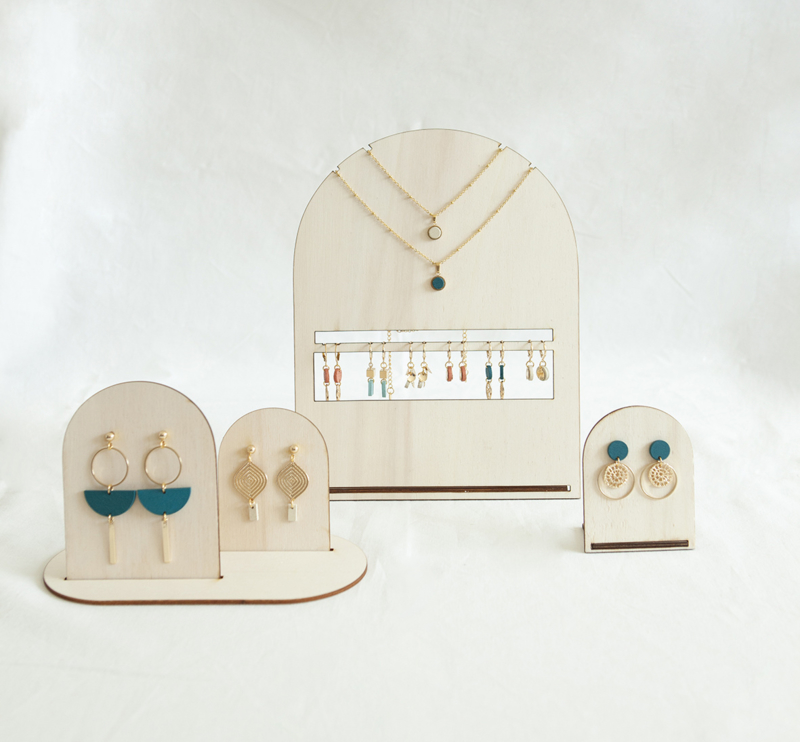 wooden display for tiny treasures