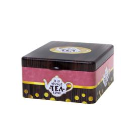 Theeblik met 4 vakken - Always time for tea