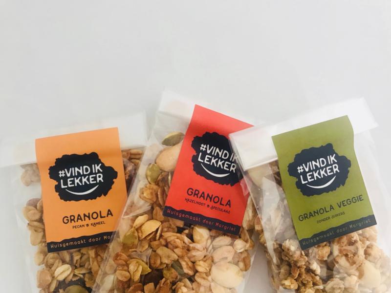 Proefpakket van alle smaken granola