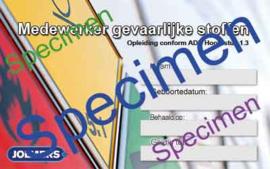 ADR voor lachgaschauffeurs online training