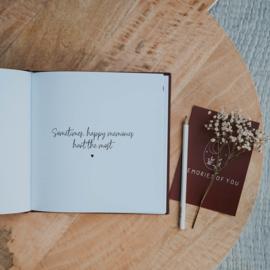 Herinneringsboek Ik mis je  ♥