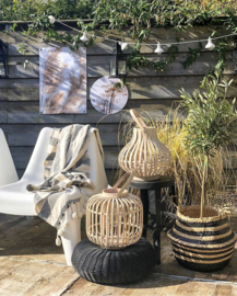Tuinposter House of Valley | Pampas wit