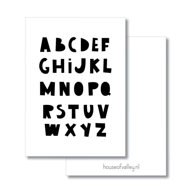 A4 poster | Alfabet