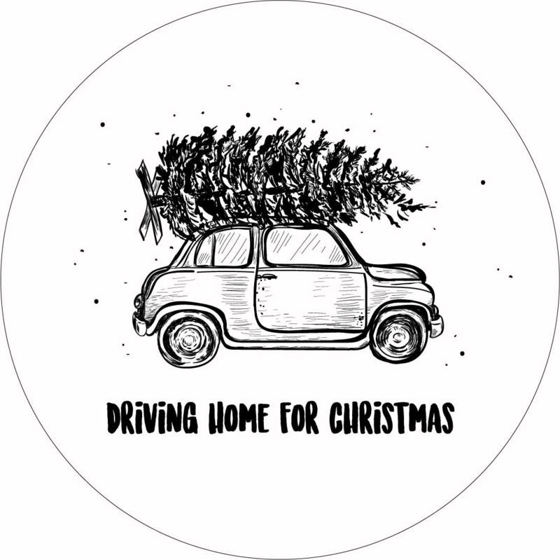 Muurcirkel House of Valley - Driving home for christmas