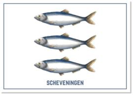 Het wapen van Scheveningen | Per 10 stuks