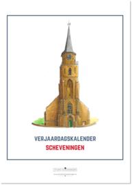 Verjaardagskalender Scheveningen | A4 | Per 5 stuks