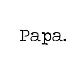 Strijkapplicatie papa