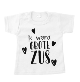 T-shirt ik word grote zus