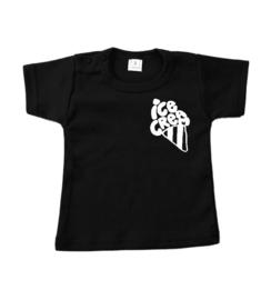 T-shirt ice cream borstzak