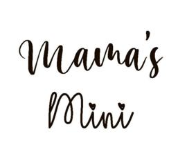 Strijkapplicatie mama's mini