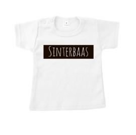 T-shirt sinterbaas wit