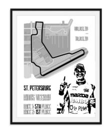 Circuit St. Petersburg poster