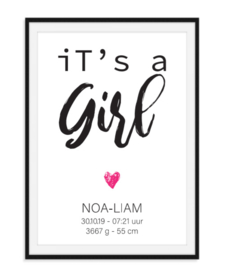 It's a boy girl - poster