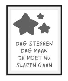 Dag sterren dag maan - Poster
