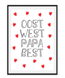 Oost West Papa Best - Poster